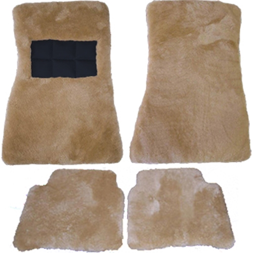 Superlamb® Custom Sheepskin Floor Mats