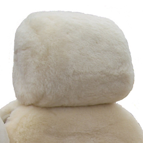 Superlamb Custom Sheepskin Headrest Covers