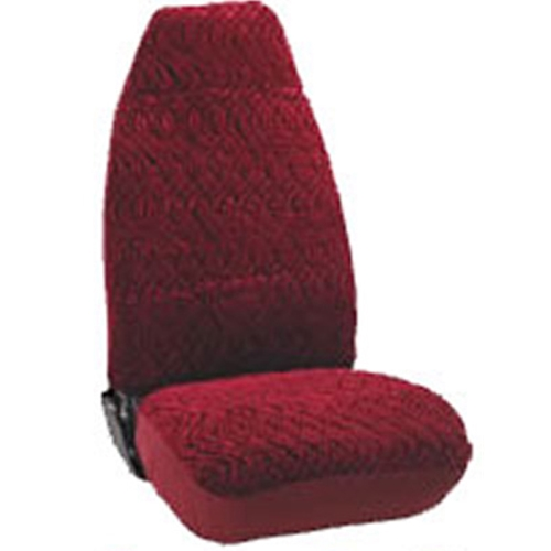 Diamond Pattern Velour Seat Cover