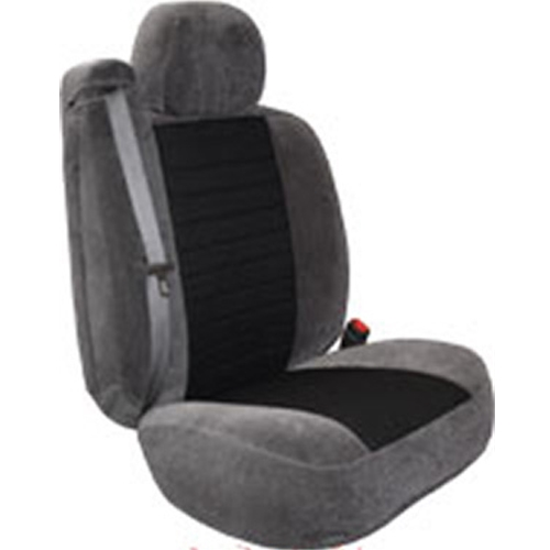 Dual Tone Velour Seat Cover