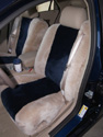 Cadillac CTS Sheepskin Seat Covers