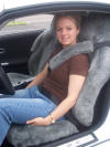 Chrysler Crossfire Sheepskin Seat Covers
