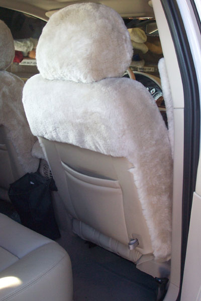Ford Five Hundred Sheepskin Seat Covers