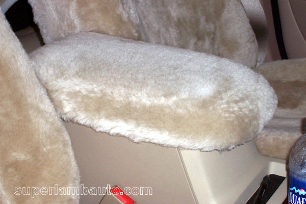 Ford Five Hundred Sheepskin Console Cover